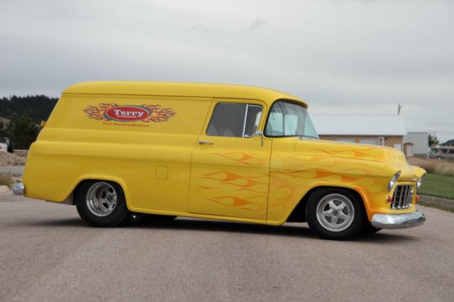 1955 Chevrolet Panel Van Hot Rod Classic Vintage Custom