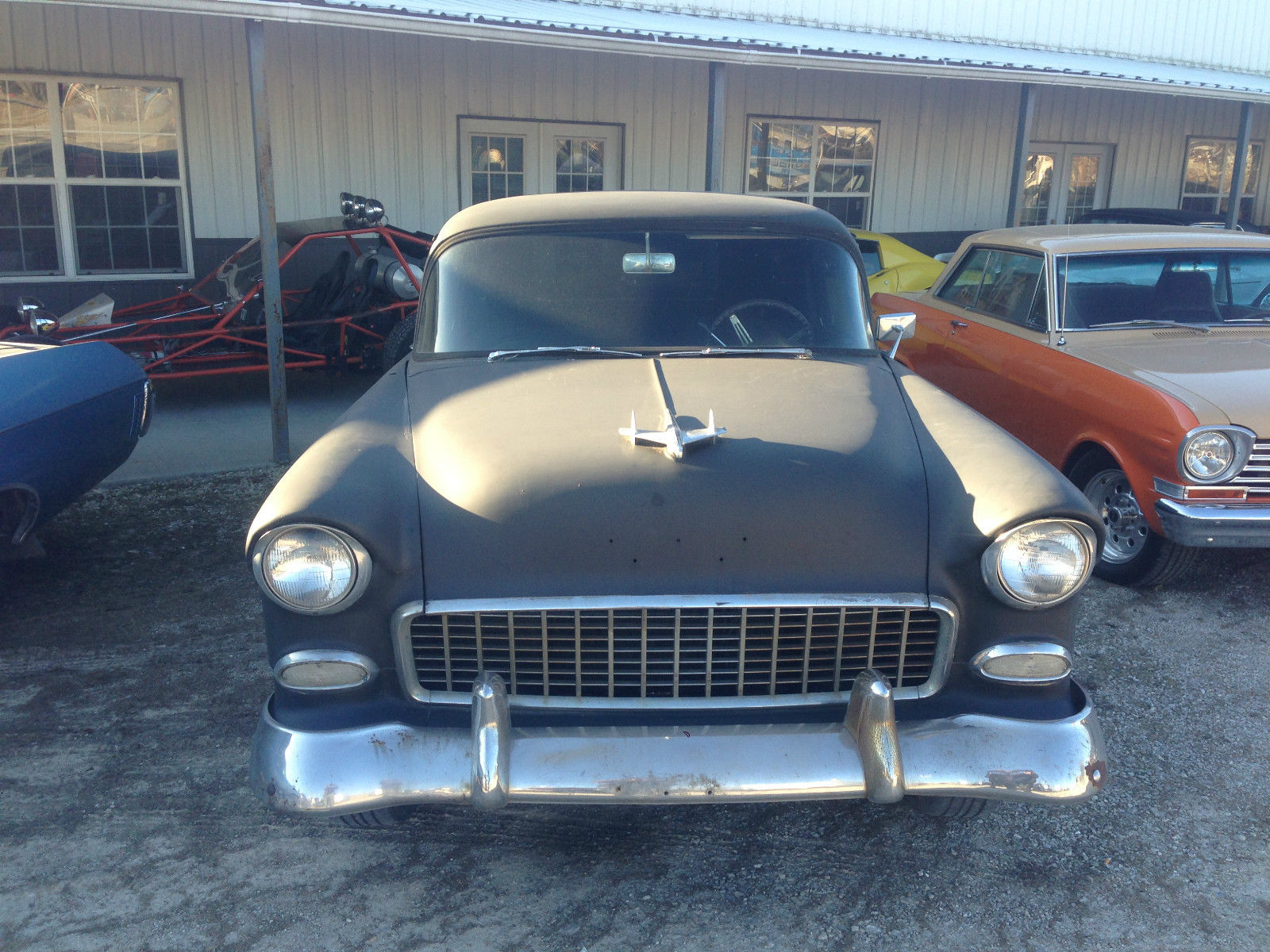 1955 Chevrolet Sedan Delivery 327/350 retro traditional hot rod 2 dr ...