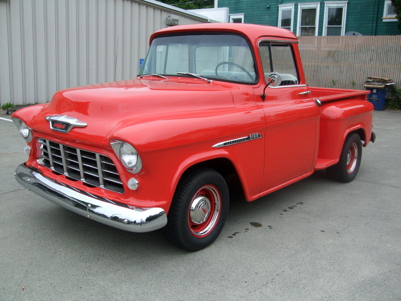 1955 chevrolet truck 3100 standard cab pickup 2 door 3 8l classic chevrolet other pickups 1955. Black Bedroom Furniture Sets. Home Design Ideas