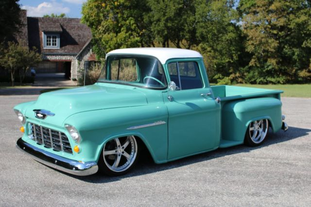 1955 Chevrolet Truck Custom Hot Rod Chevy 3100 Built