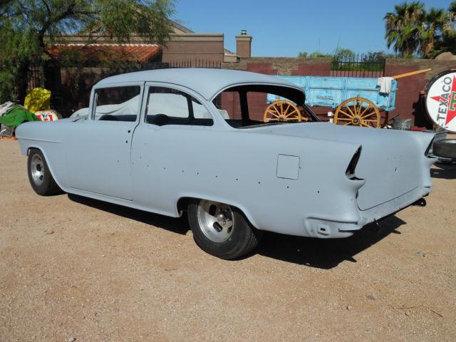 1955 Chevy 2 Door 210 Post - Very Solid Project Roller ...