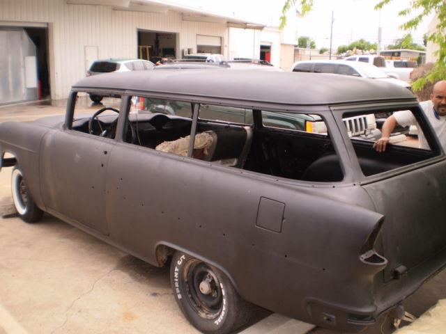 1955 chevy 2 door handy man wagon 210 barn find project for 1955 chevy 2 door wagon for sale