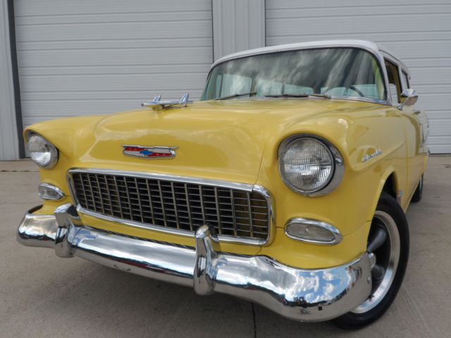 1955 chevy 2 door wagon 327 v8 four speed manual for 1955 chevy 2 door wagon for sale