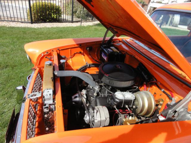 1955 Chevy 210 350 Saginaw 4 Speed Leather Interior Bel Air