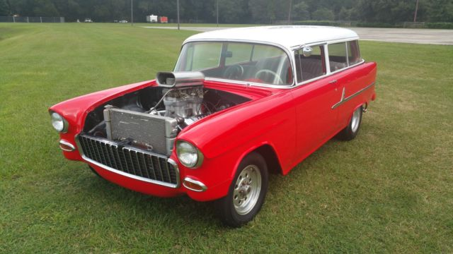 1955 chevy 210 belair 2 door wagon no reserve classic for 1955 chevy 2 door wagon for sale