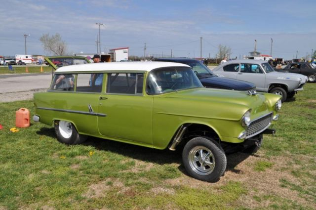 Classic Chevy Mentor >> 1955 Chevy 2dr Station Wagon Gasser Hot Rod - Classic ...