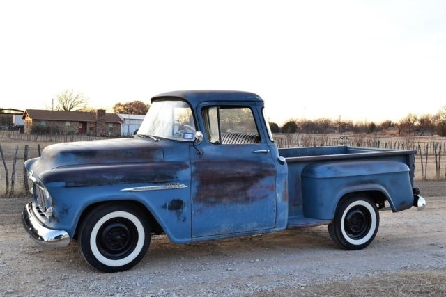 1955 chevy 3100 pickup truck 19k mile texas survivor c10 for 1955 chevy big window for sale