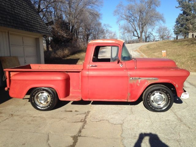 Chevrolet Of Bellevue >> 1955 CHEVY 3100 PICKUP TRUCK 454 V8 SHORT BED - Classic Chevrolet Other Pickups 1955 for sale