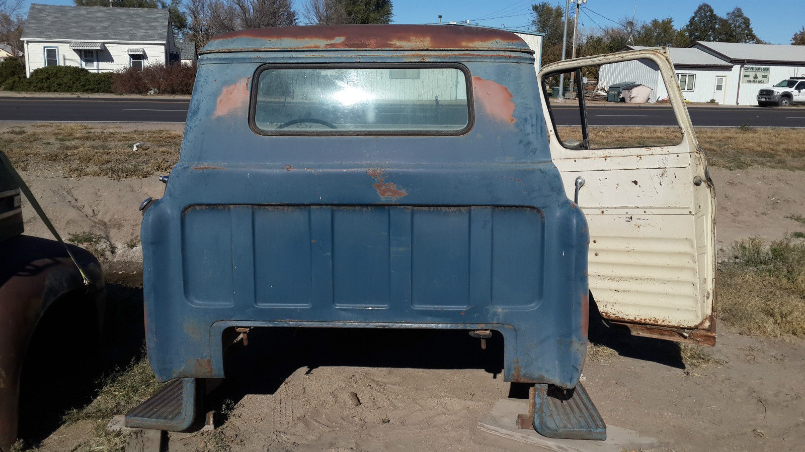 1955 Chevy 5100 2 Ton Truck Cab Almost Complete With Title 1957 Apache For Sale Prevnext