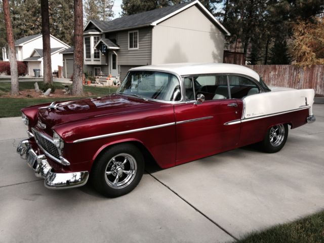 1955 CHEVY BEL AIR 2 DOOR HARD TOP 1 FAMILY OWNED ...