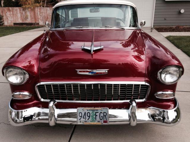 1955 chevy bel air 2 door hard top 1 family owned for 1955 chevy bel air door panels