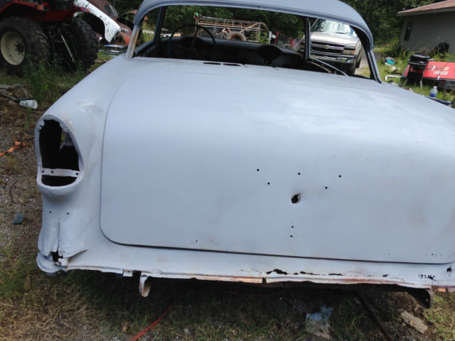1955 chevy bel air 2 door hardtop project car classic for 1955 chevy bel air door panels