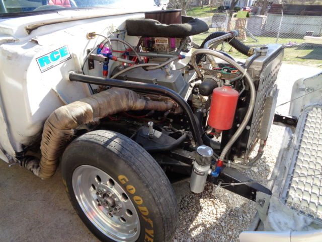 1955 Chevy Bel Air Gasser Tri 5 Race Drag Car Rat Rod