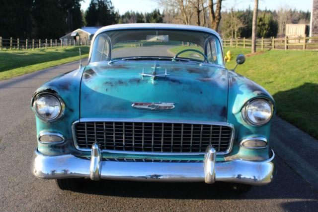 1955 Chevy Bel Air Sport Coupe 2 Door Hardtop Original