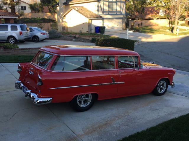 1955 Chevy Chevrolet 55 56 57 Wagon Handyman Nomad Hot Rod