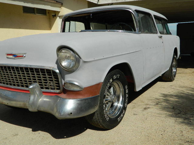 1955 Chevy Nomad Unrestored Project Car Less Engine ...