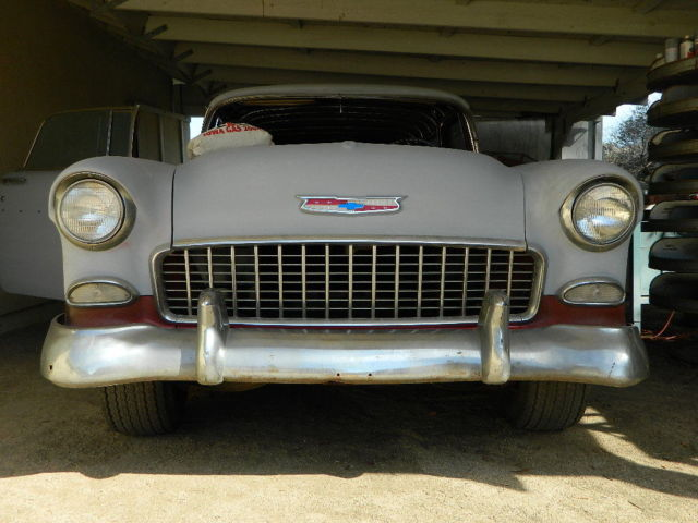 1955 Chevy Nomad Unrestored Project Car Less Engine
