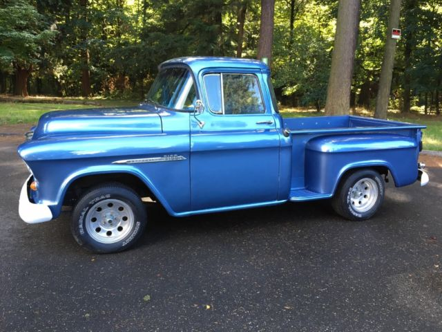 1955 Chevy Pickup Truck 3100 Series Shortbed Stepside