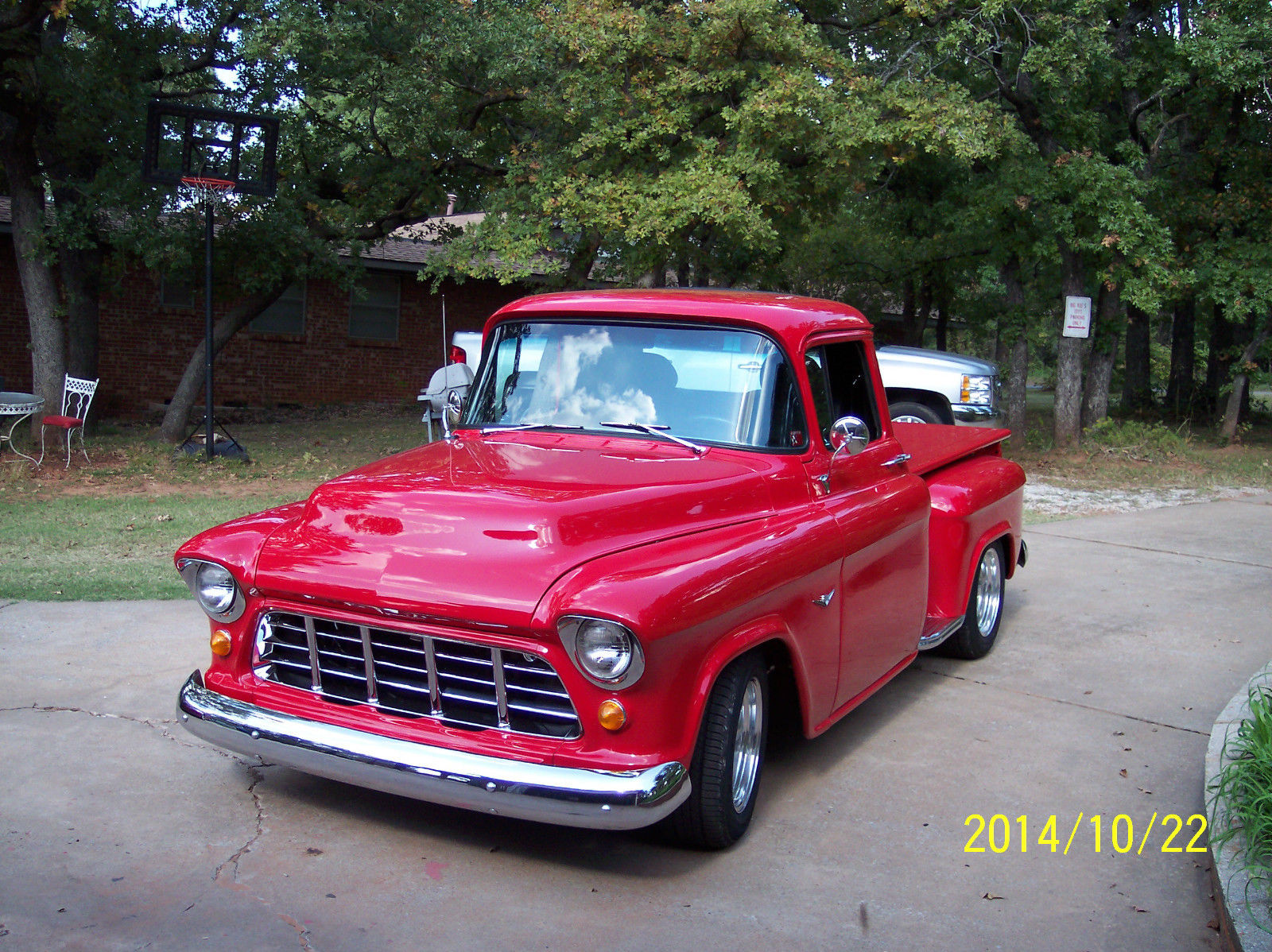 1955 Chevy Pickup Truck Street Rod Hot Rod Classic Chevrolet C K Pickup 1500 1955 For Sale