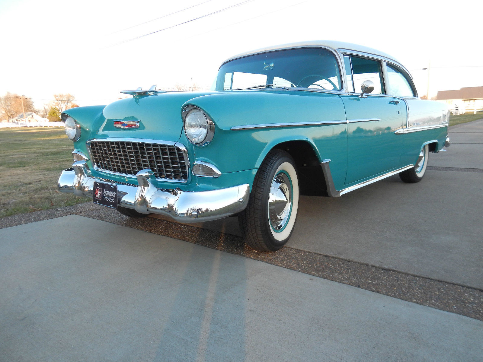 1955 Chevy Resto Mod Classic Chevrolet Bel Air 150 210 For Sale Coupe