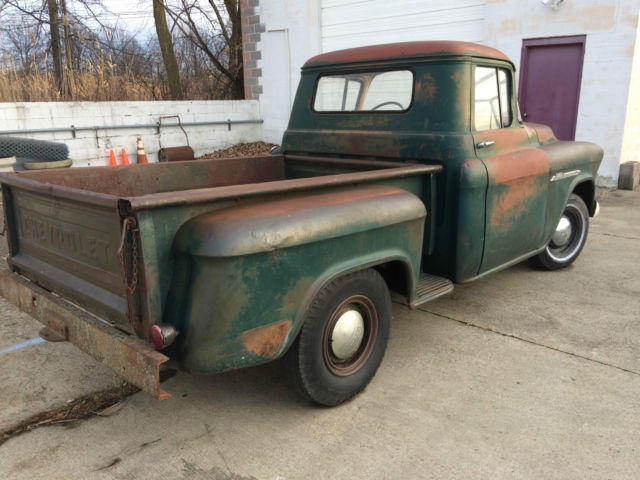 1955 chevy truck patina classic chevrolet other 1955 for sale. Black Bedroom Furniture Sets. Home Design Ideas