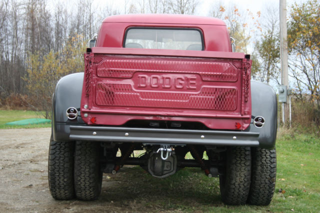 1955 custom 4x4 dodge truck frame off restoration classic dodge other pickups 1955 for sale. Black Bedroom Furniture Sets. Home Design Ideas