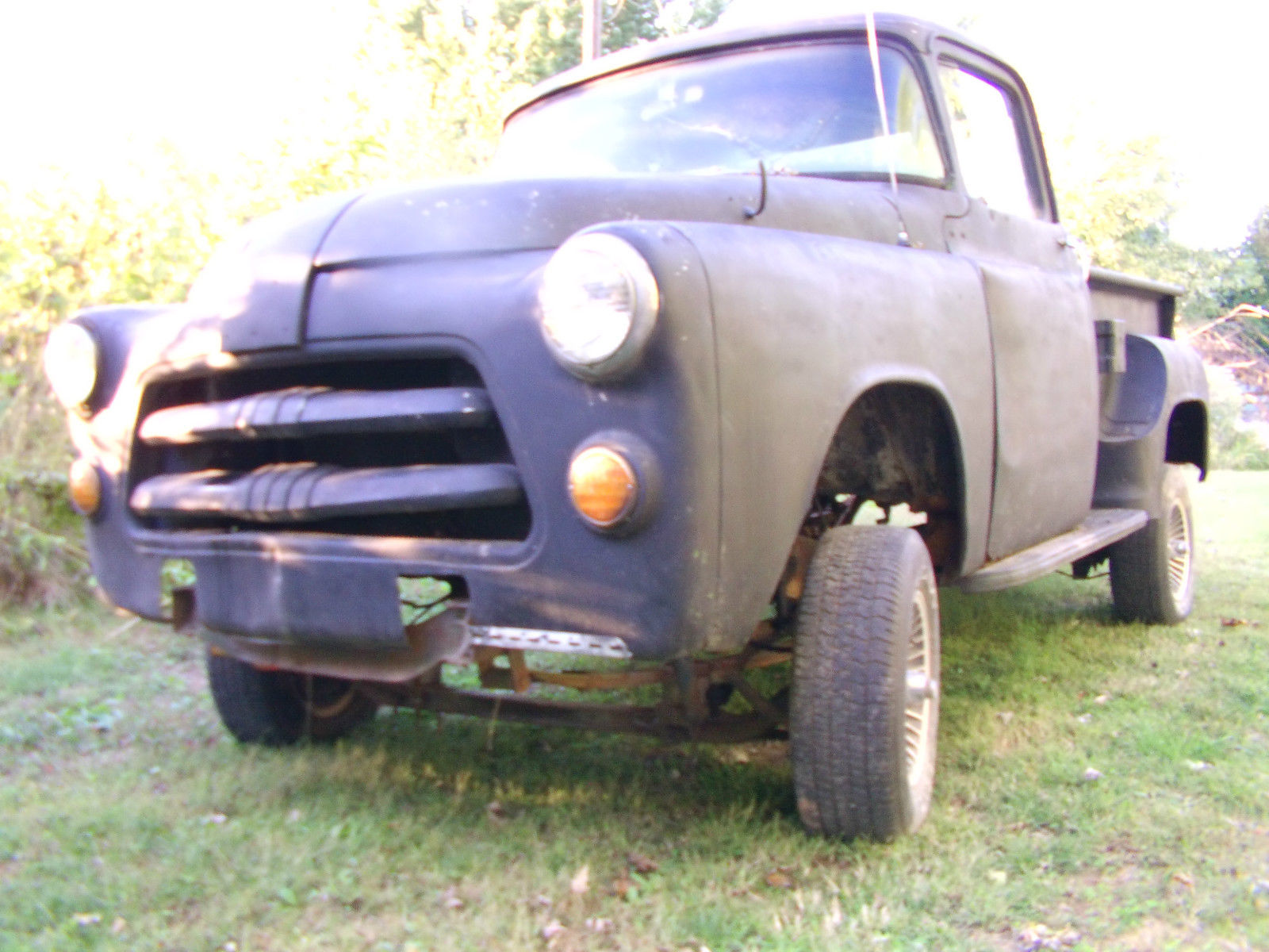 1955 Dodge Truck With A 1974 318 Engine Rat Rod Gasser Mopar Ford F100 Pick Up St Louis Other