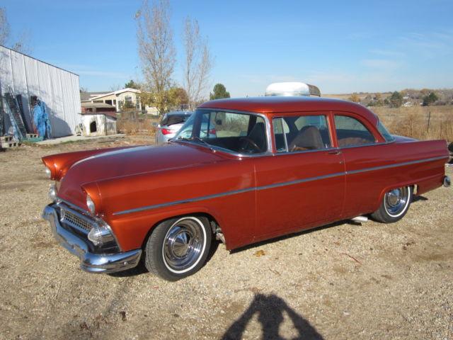 1955 ford customline 2 dr sedan killer y block 4 spd 9 for 1955 ford customline 4 door