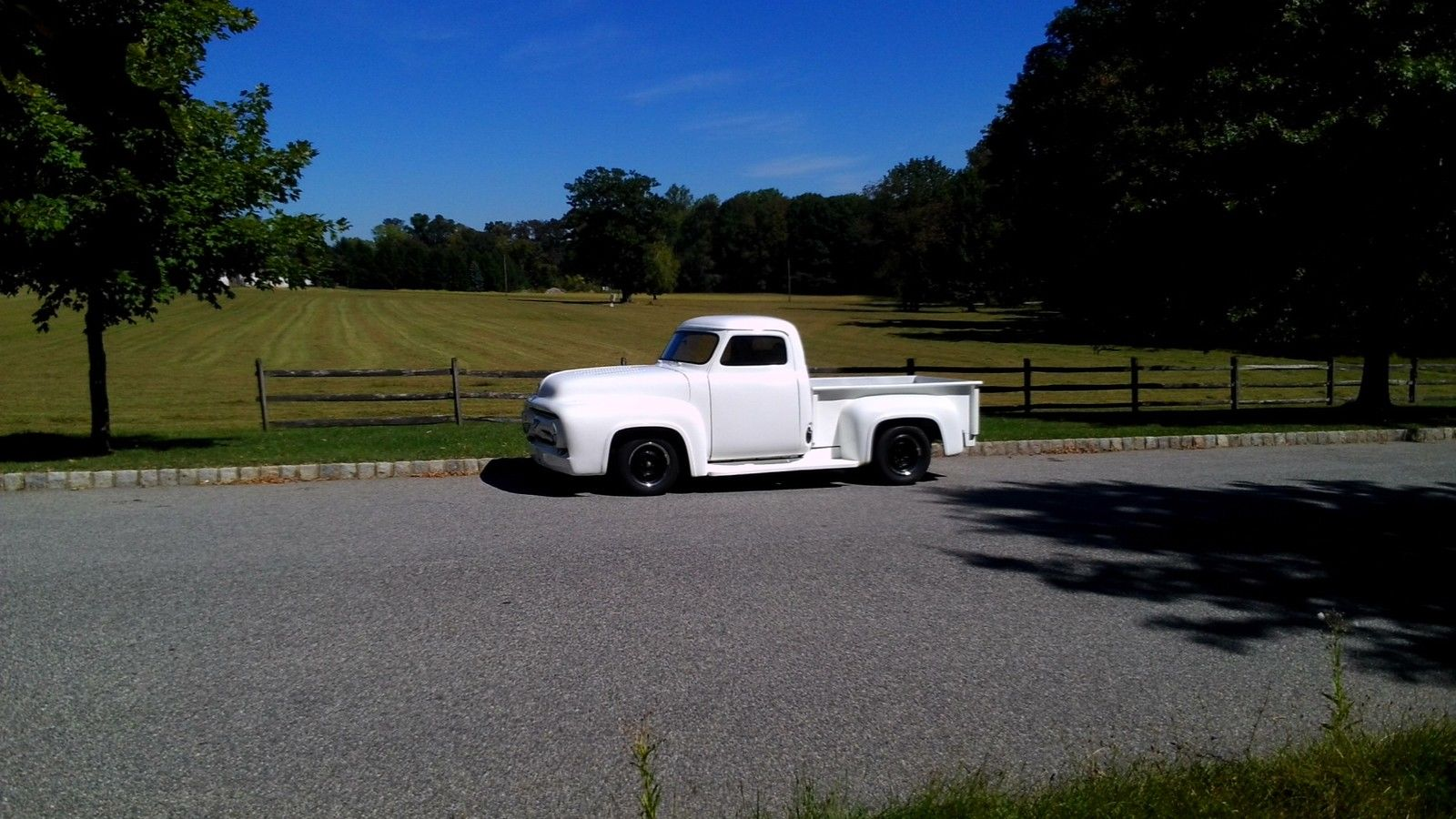 1955 Ford F100 Custom Pickup Truck 500hp 429 Motor Classic