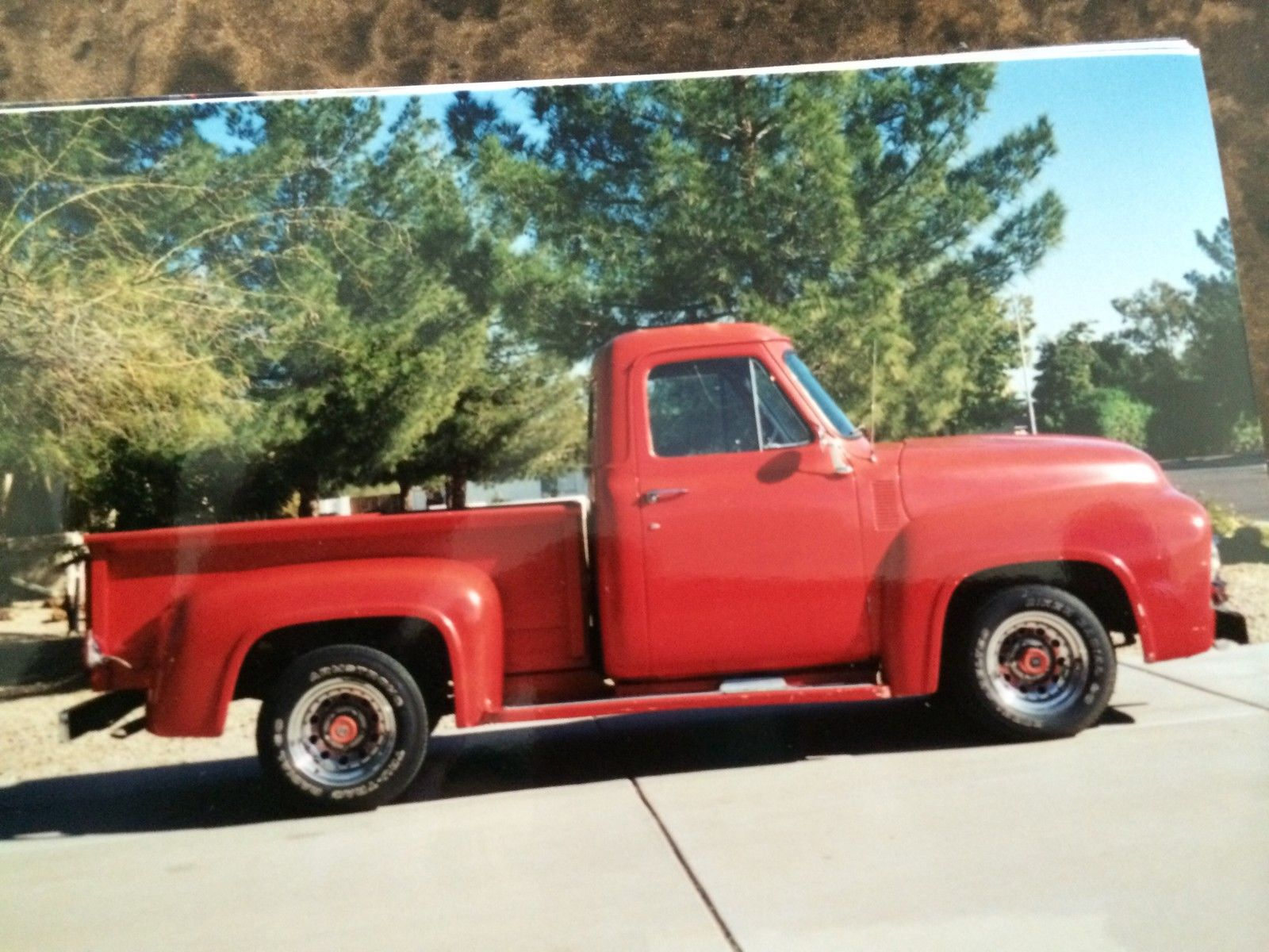 1955 Ford F100 Street Rod Project No Reserve Classic F 100 Truck Interior For Sale