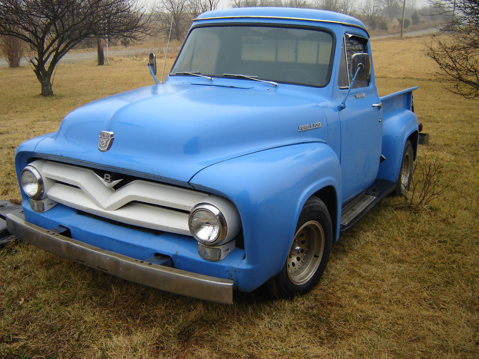 1955 Ford F100 V8 Pickup Classic F 100 For Sale Pick Up