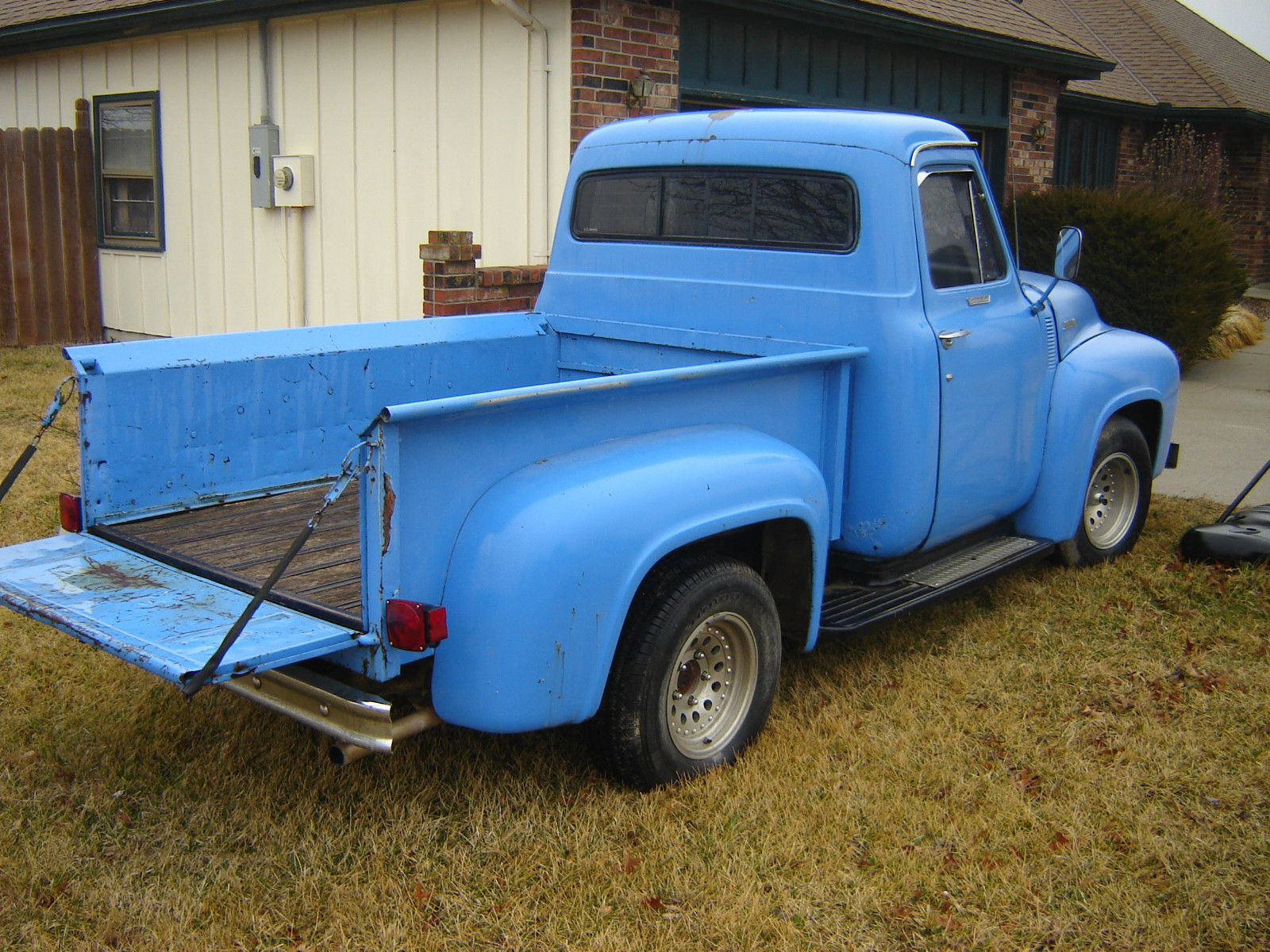 1955 Ford F100 V8 Pickup Classic F 100 For Sale Interior