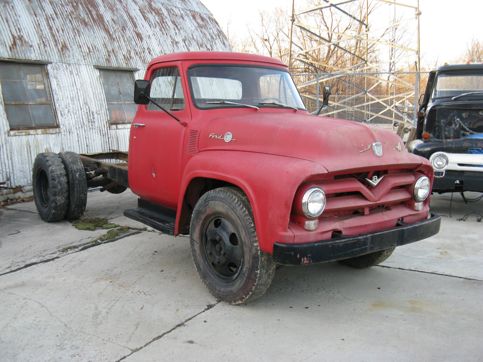1955 Flatbed Truck For Sale