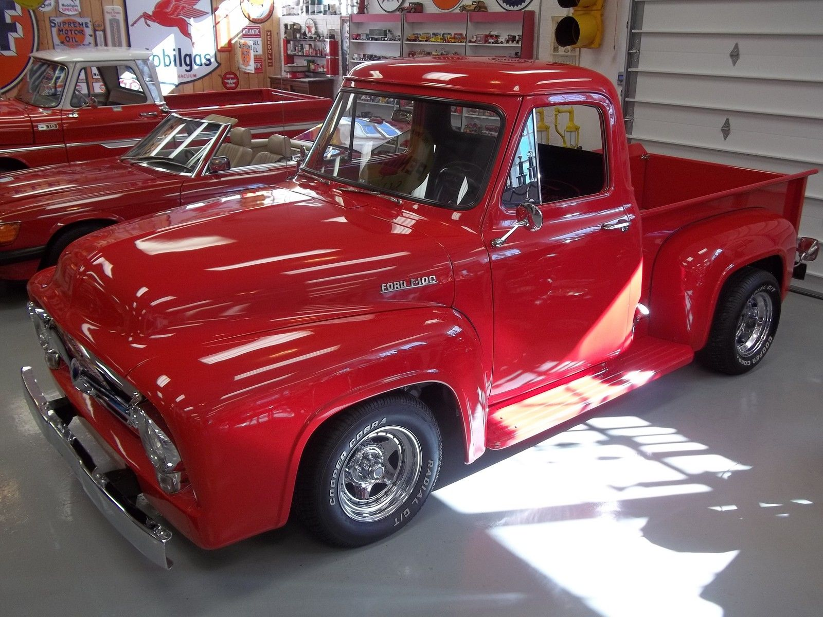 1955 Ford Pickup Beautiful F100 F 100 Custom Truck