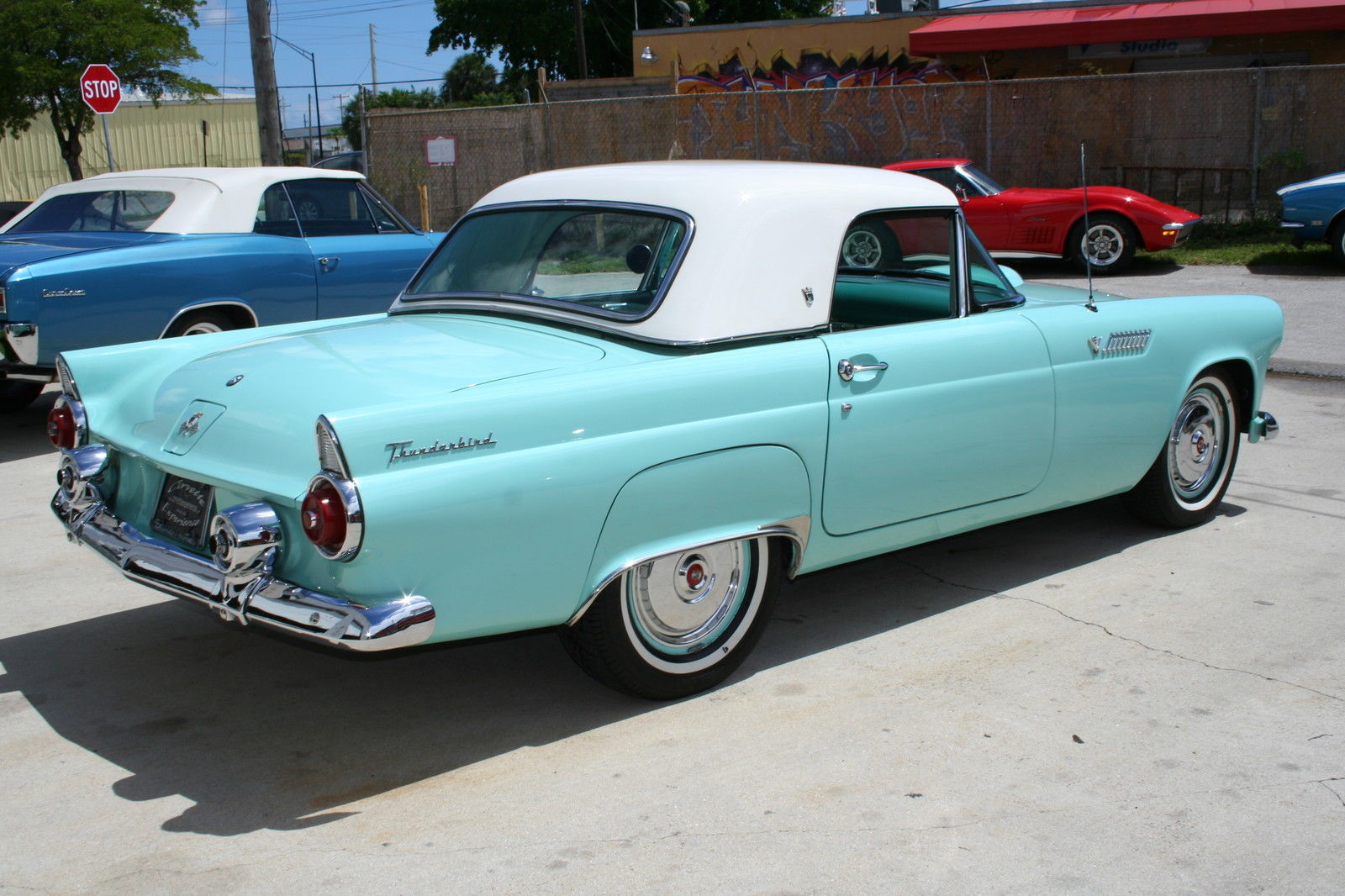 1955 Ford Thunderbird Dual Exhaust California Car Older Body Off 1954 Convertible Restoration Classic For Sale