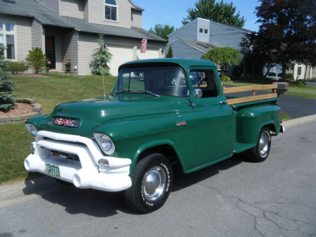 1955 gmc 100 base 1 2 ton pick up truck very sharp like chevrolet look classic gmc. Black Bedroom Furniture Sets. Home Design Ideas