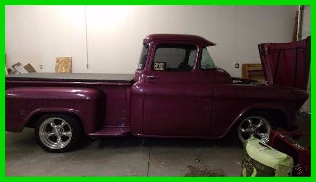 1955 gmc c1500 325hp pickup truck with rumble seat trailer classic gmc other 1955 for sale. Black Bedroom Furniture Sets. Home Design Ideas