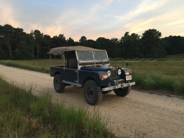 1955 land rover series 1 galvanized 200tdi diesel full restoration defender classic land. Black Bedroom Furniture Sets. Home Design Ideas
