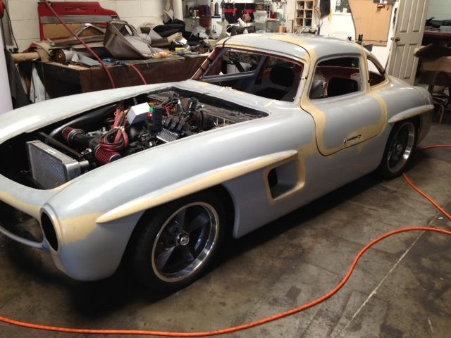 1955 mercedes benz 300sl gullwing replica classic for Mercedes benz 300sl gullwing for sale