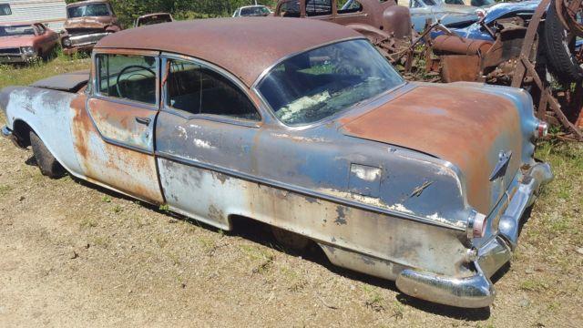 1955 Pontiac Air Cleaner : Pontiac chieftain door coupe v complete no