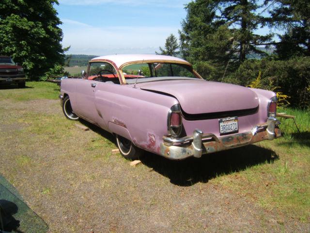 1956 1955 1954 ford two door hardtop project classic for 1955 mercury monterey 2 door hardtop