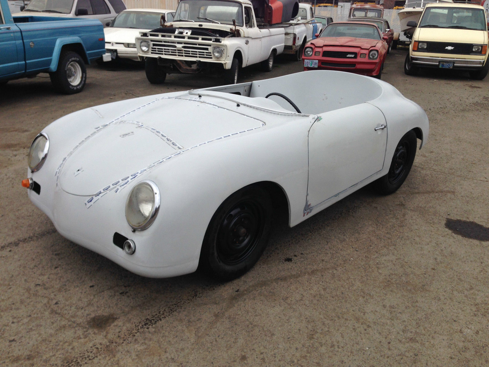 1956 356 Porsche Replica Kit Car Classic Porsche 356