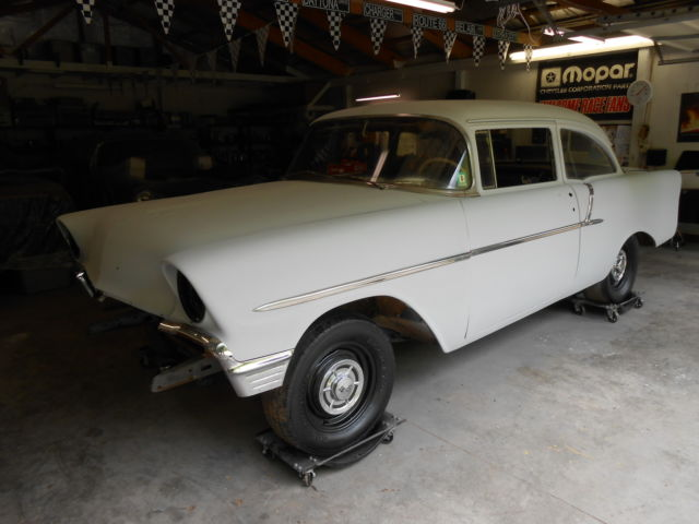 1956 56 CHEVY CHEVROLET 150 2 DOOR SEDAN SURVIVOR BARN ...