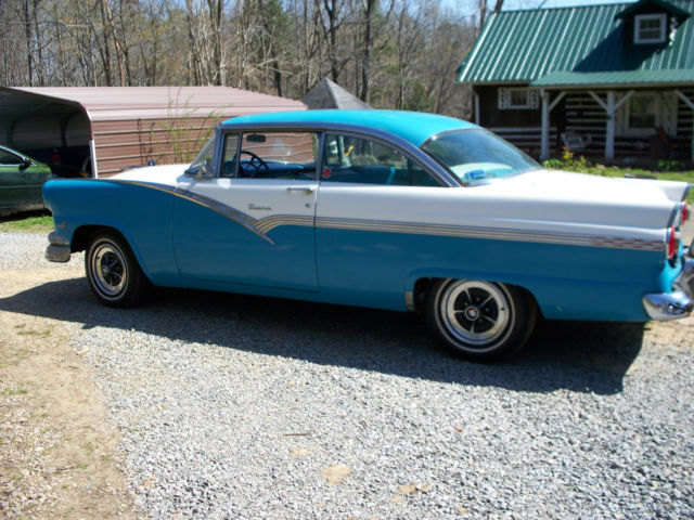 1956 56 Ford Fairlane Victoria 2d H T Classic Ford