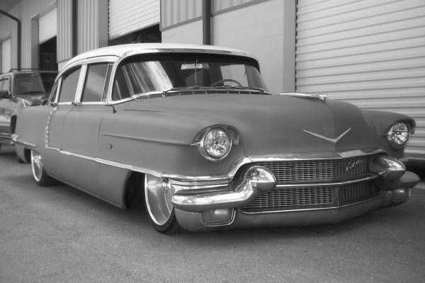 1956 Cadillac DeVille 4 Door Rat Rod Low Rider Caddy ...