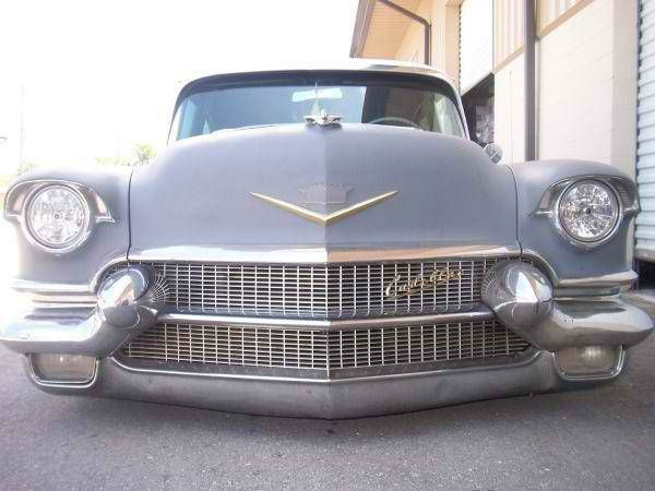 1956 Cadillac Deville 4 Door Rat Rod Low Rider Caddy