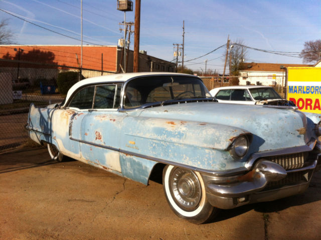 1956 Cadillac Sedan Deville 4 Door Hardtop Rockabilly Lead