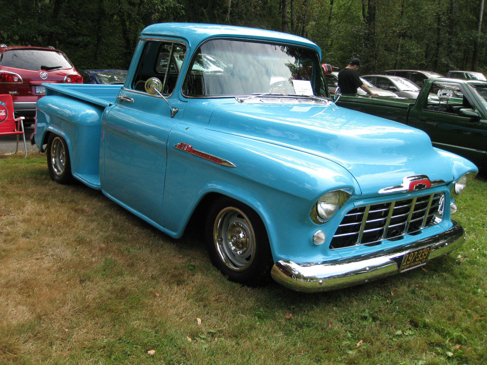 1956 CHEVROLET 1300 PICKUP TRUCK HOT ROD STREET ROD 350HO