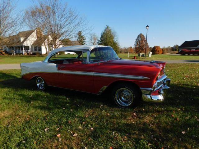 1956 chevrolet bel air 2 door hardtop 39 56 chevy v8 for 1956 chevy 2 door hardtop for sale