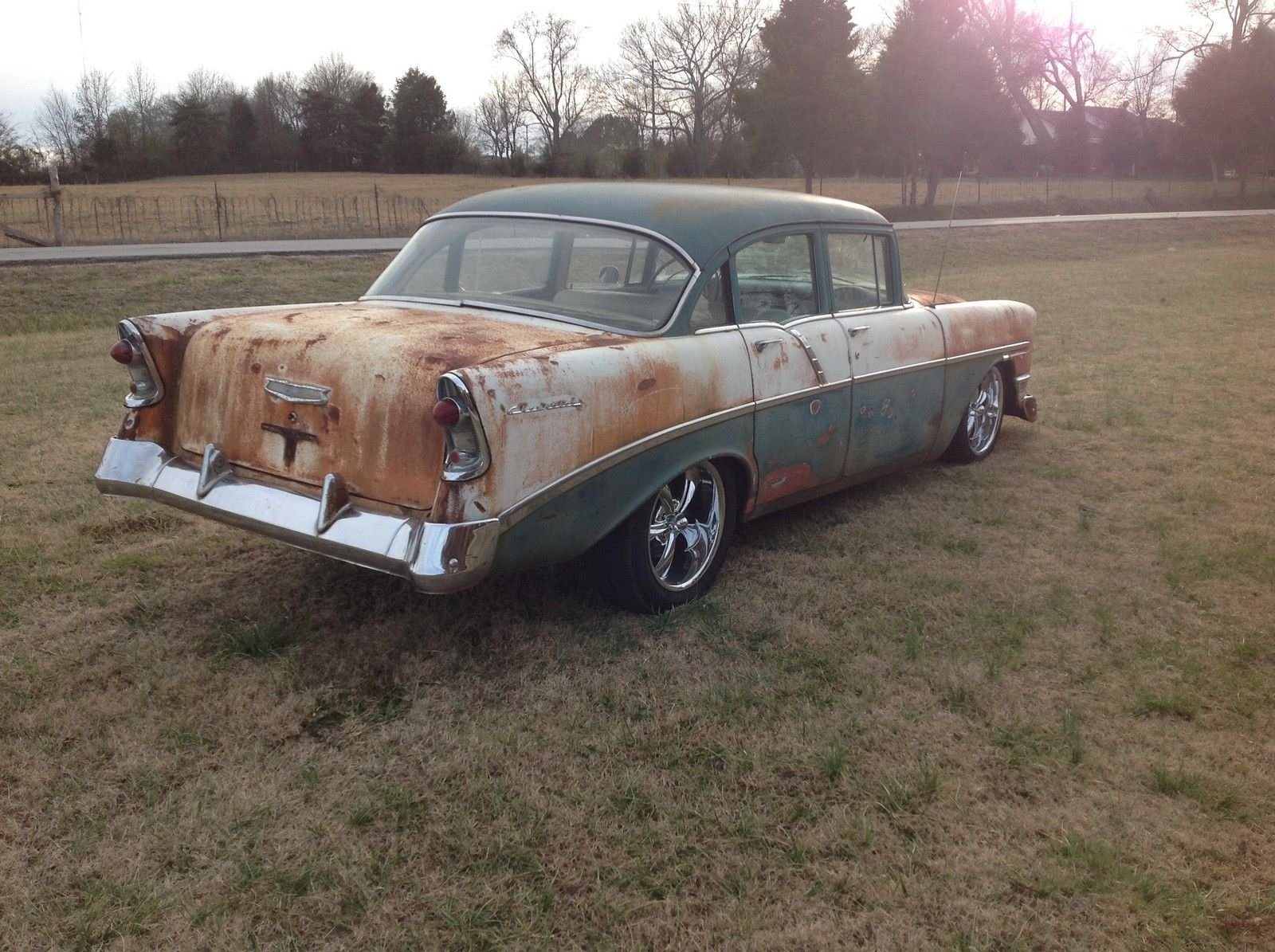 1956 Chevrolet Bel Air 350 700r No Reserve Rat Rod Surf